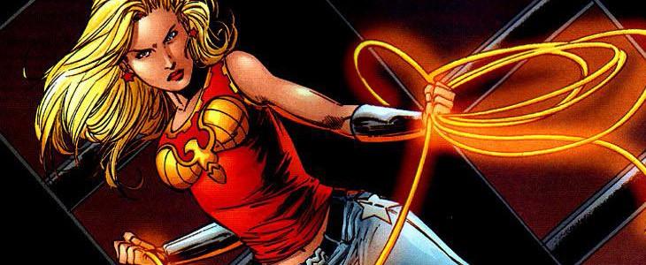 La jeune super-héroïne Wonder Girl