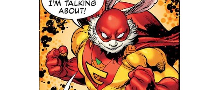 Captain Carrot dans les comics