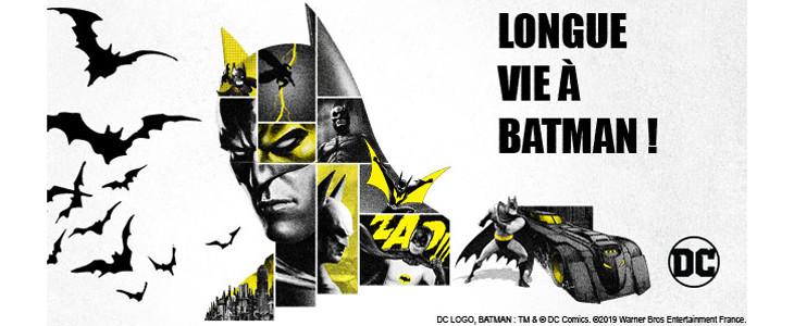 Longue vie à Batman !