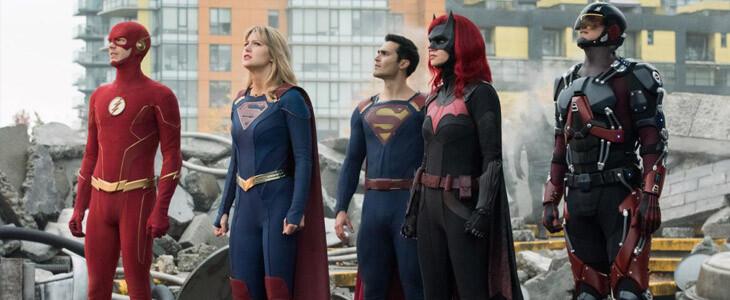 Les super-héros de l'Arrowverse