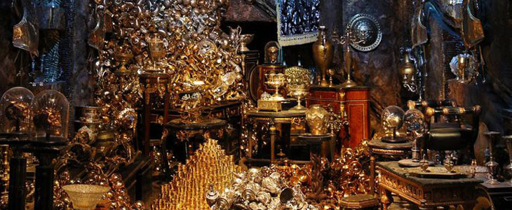 Harry Potter Studio Tour - Banque Gringotts