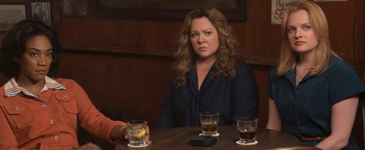 Tiffany Haddish, Melissa McCarthy et Elisabeth Moss dans Les Baronnes