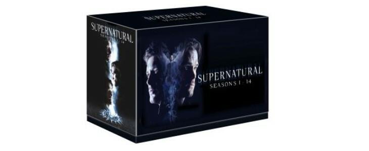 Supernatural, le coffret des saisons 1 à 14.