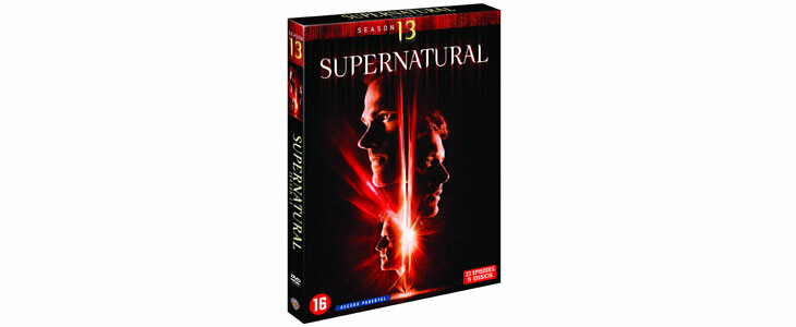 Supernatural saison 13 en DVD.
