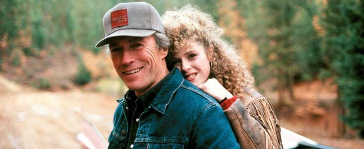 Clint Eastwood et Bernadette Peters dans Pink Cadillac