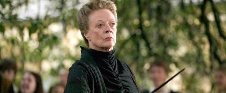 Minerva McGonagall dans Harry Potter