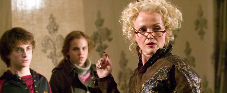 Miranda Richardson (Rita Skeeter) dans Harry Potter et la Coupe de Feu