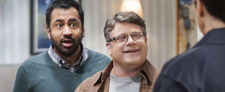 Kal Penn et Sean Astin dans la saison 12 de The Big Bang Theory