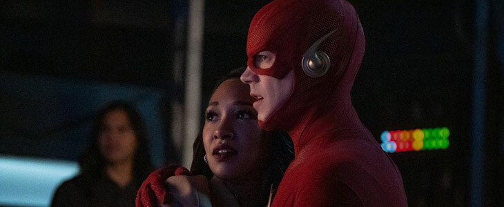 Iris West-Allen et Flash dans le crossover de l'Arrowverse
