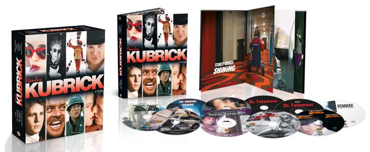 Coffret Noël 2019 8 films Kubrick.