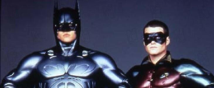 Batman Forever, avec Val Kilmer.