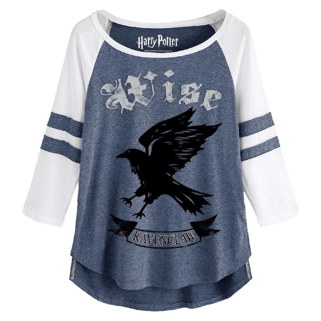 T,shirt Femme Serdaigle Wise bleu