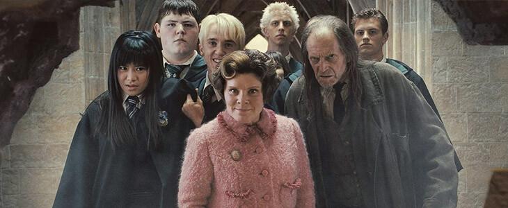 La Brigade Inquisitoriale arrêtent les membres de l'Armée de Dumbledore